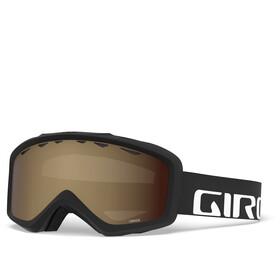 Giro Grade Gafas Niños, black/amber rose